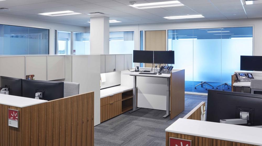 Preview of Cambium Casegood | Custom | Paldao Veneer | Adjustable Height Desk | Design: Studio BV, Dealer Partner: Atmosphere