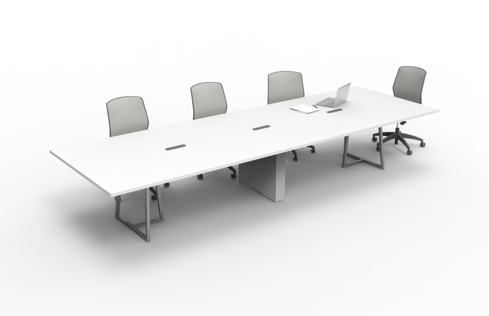 Preview of  Two4Six | Conference Table | Open Frame Base | Rectangle Center Base