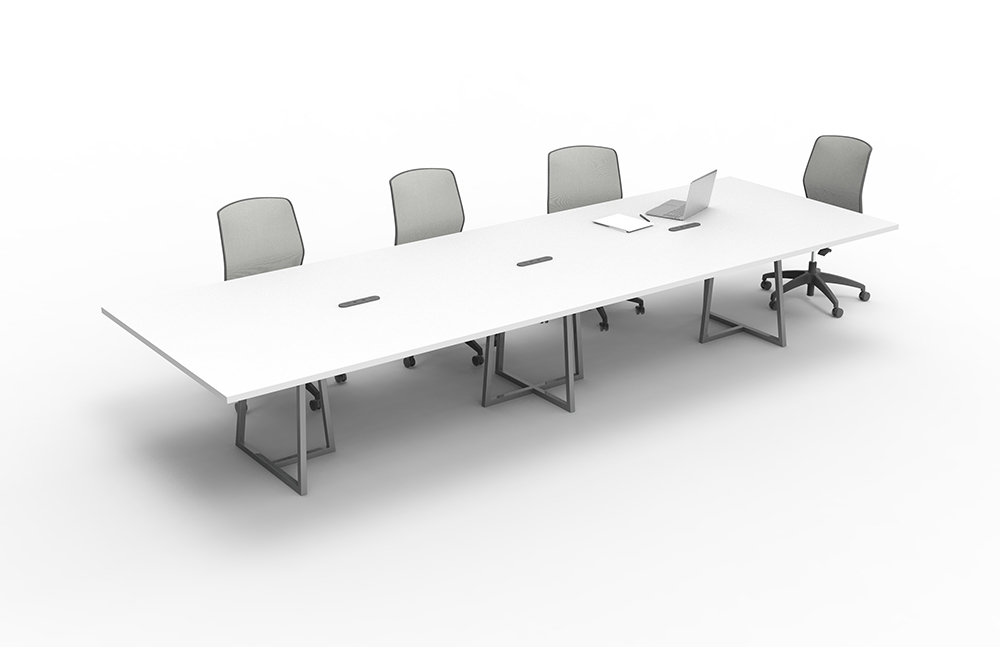 Preview of  Two4Six | Conference Table | Open Frame Base | Open Frame Center Base