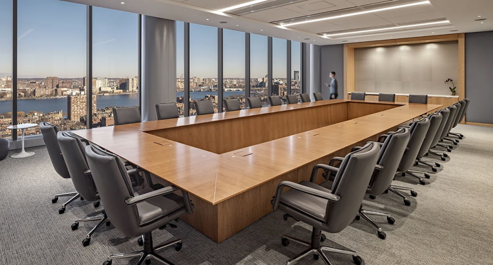 Preview of Ativa | Rectangle Conference Table | Custom Veneer | CBT Architects | Private Company | © Robert Benson Photography