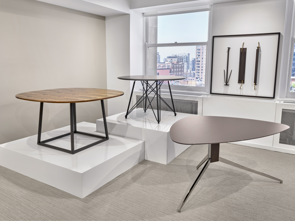 Preview of Two4Six | Baja | Soft Triangle | Meeting Tables | Chicago Showroom