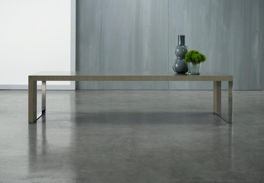 Preview of Emme | Rectangle Coffee Table | M07 Bramble Rift Cut Oak Veneer