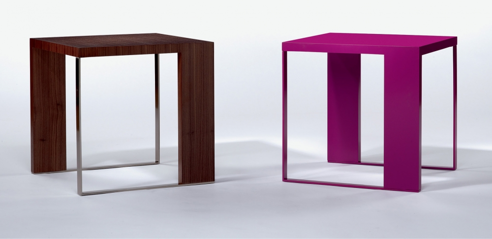Preview of Emme | Occasional Tables | S83 Punch Paint | G37 Castano Walnut