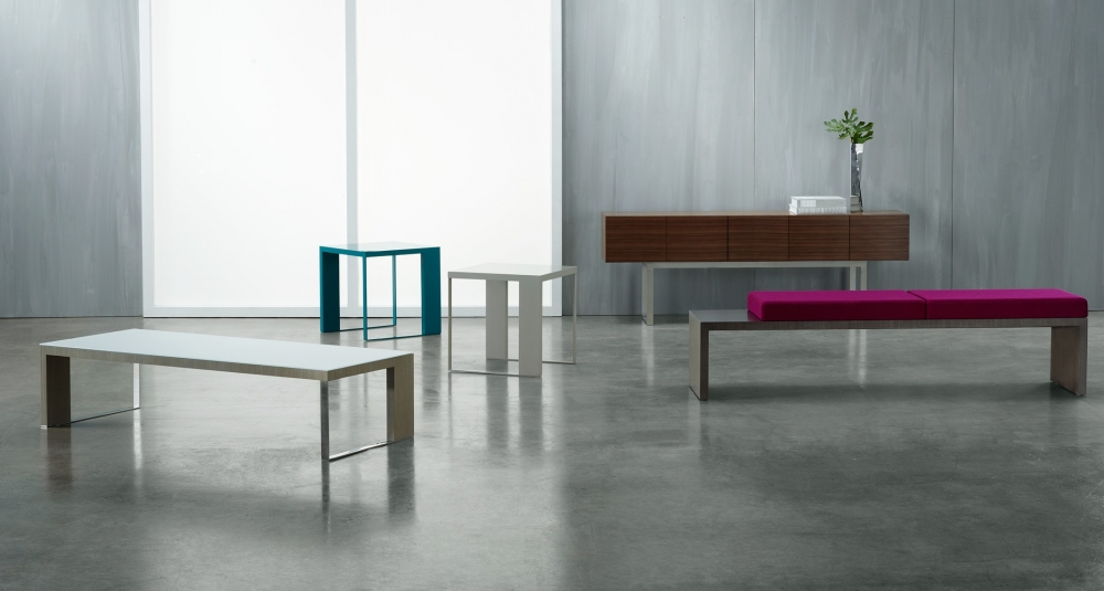 Preview of Emme | Occasional Tables and Benches | Partial Statement of Line