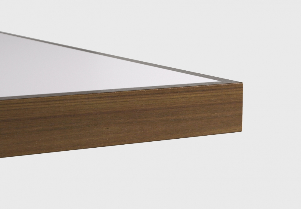 Preview of Fleet | Training Table | Square Wood Edge | Inset Laminate Top