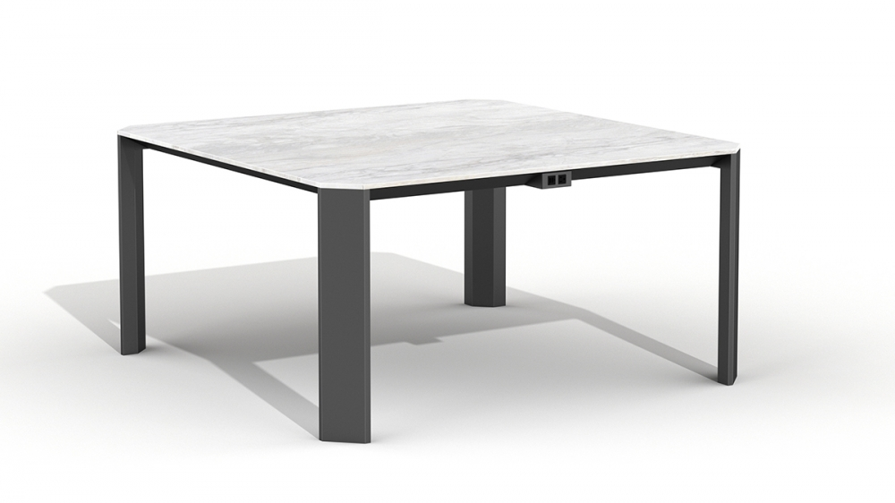 "Preview of Tova | Meeting Table | Square Shape 60"" x 60"" 