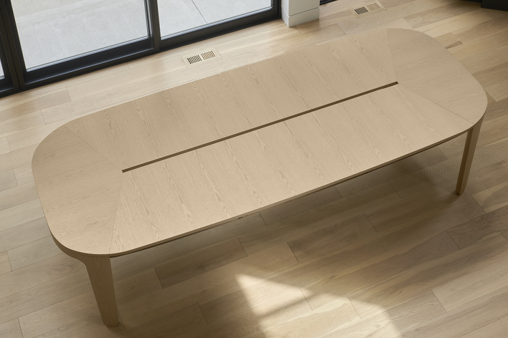 """Preview of Alev Meeting   Conference Table   Dune Veneer   120"""" × 48"""""""