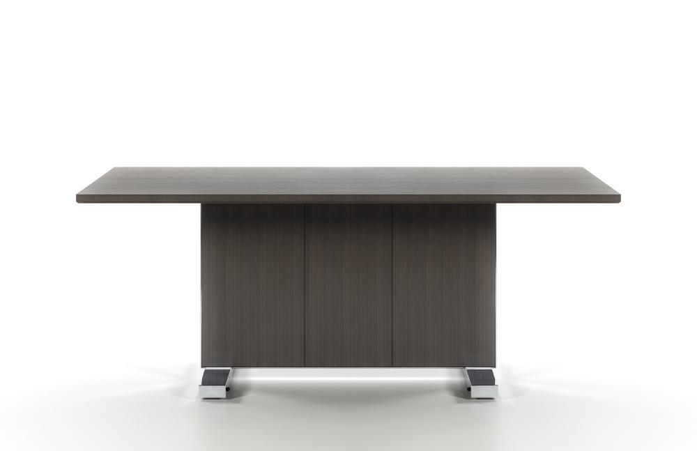 Preview of Approach | Reconfigurable Tables | G30 Zinc Veneer | Access Door