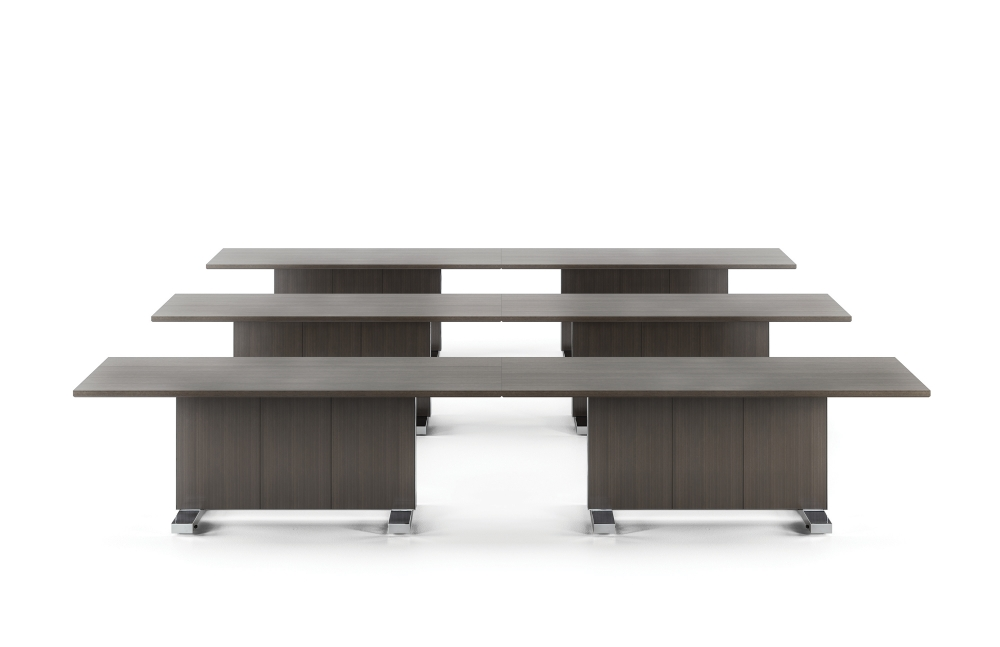 Preview of Approach | Reconfigurable Tables | Rift Cut Oak Veneer | Training Configuration