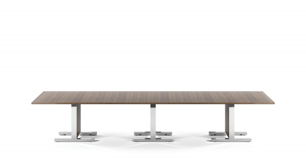 Preview of Approach | Reconfigurable Tables | Veneer | Polished Chrome Base