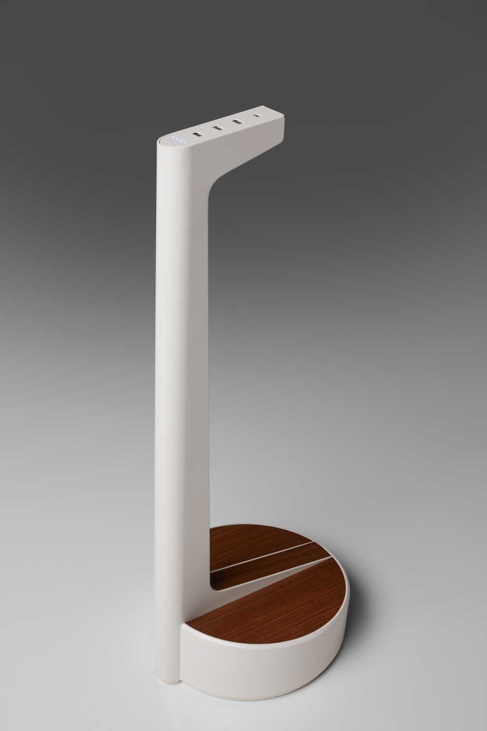 Preview of Charging Stand | Custom Veneer Top