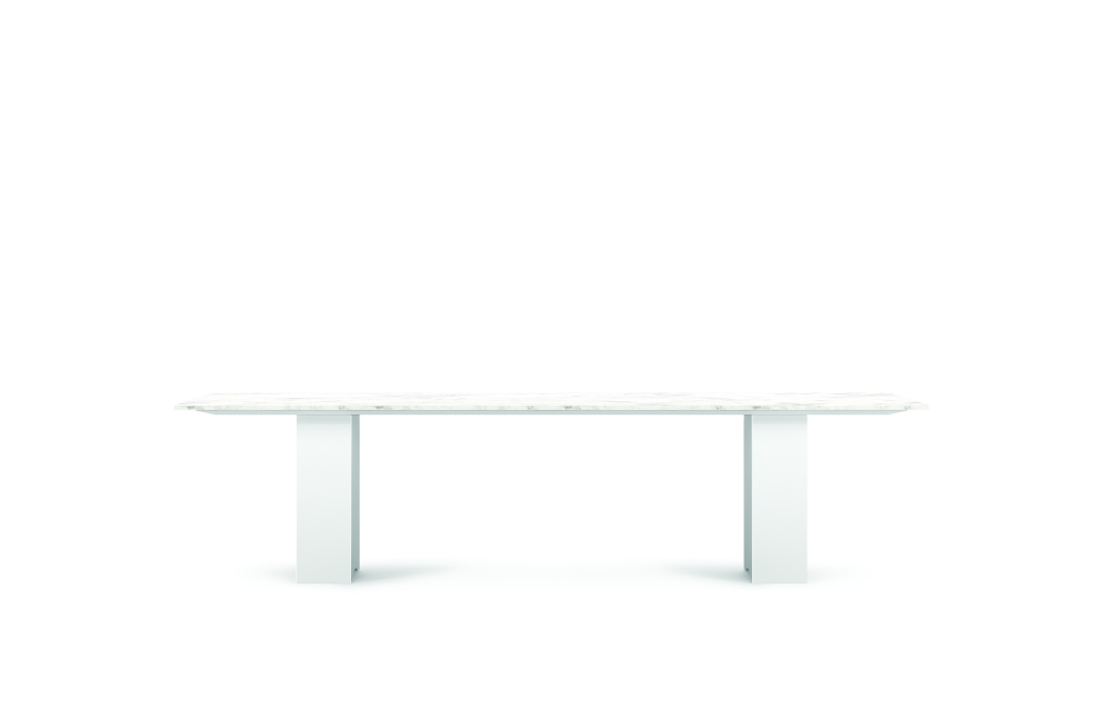 "Preview of Flow | Conference Table | 120"" Rectangle Stone-Top 