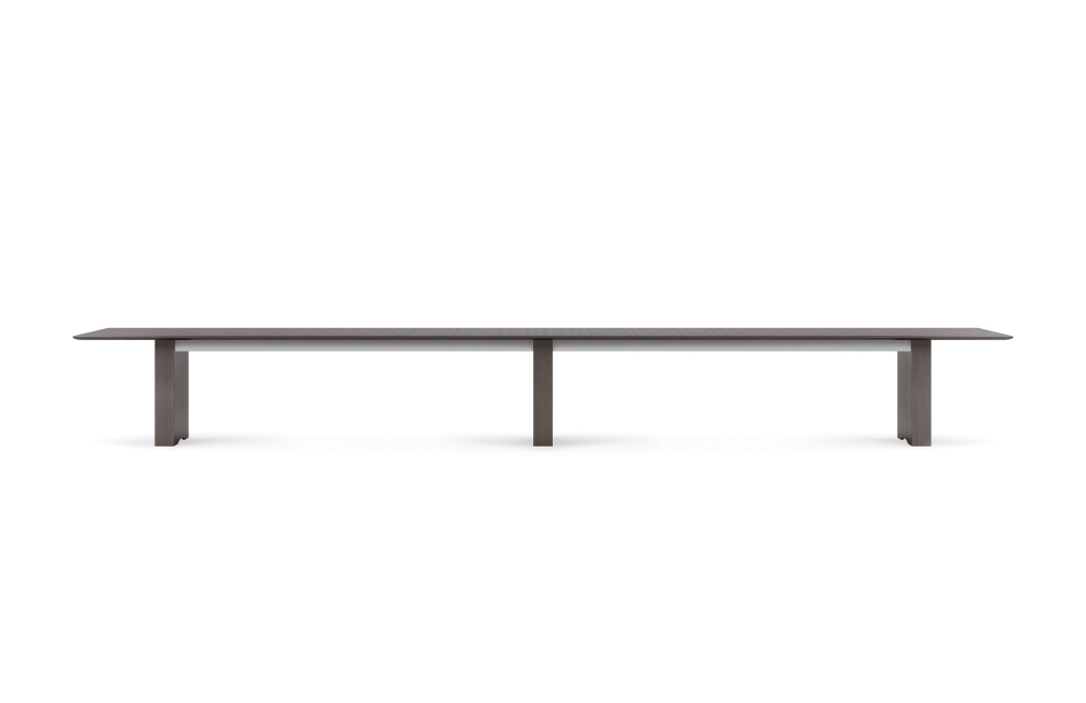 "Preview of Flow | Conference Table | 240"" Length Rectangle Veneer Top 
