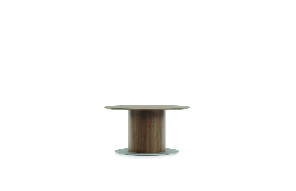 "Preview of Flow | Conference Table | 54"" Round Veneer Top 