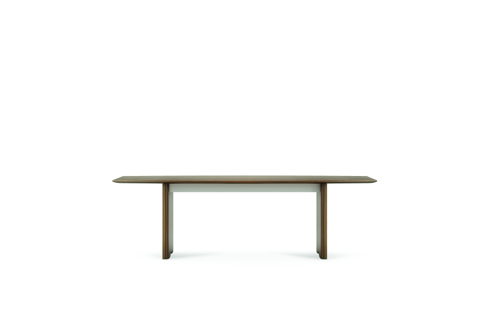 "Preview of Flow | Conference Table | 96"" Boat Shaped Top 