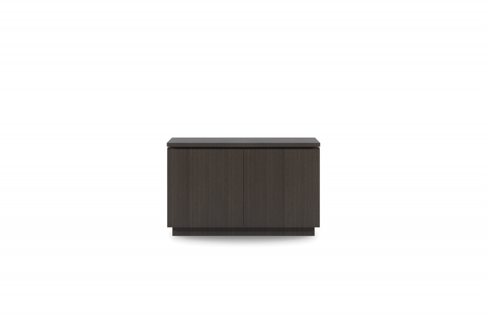 "Preview of Performance Credenza | G30 Zinc Walnut Veneer | 48"" Length 