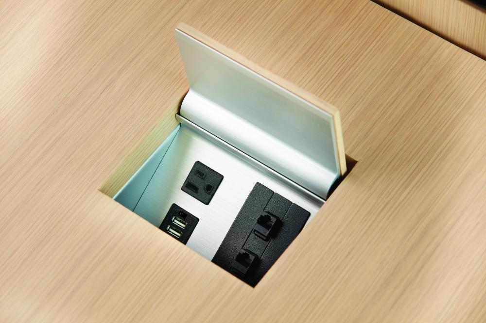 Preview of Power Matrix | M49 Angora Veneer | Veneer Matched Door | Small Size