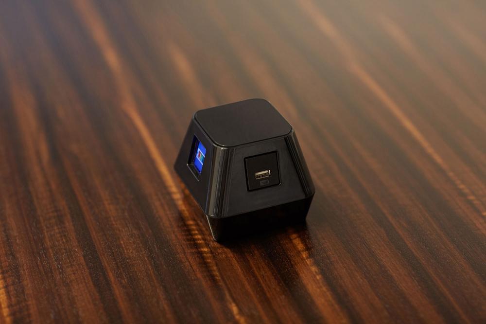 Preview of Charging Cube | Veneer Background