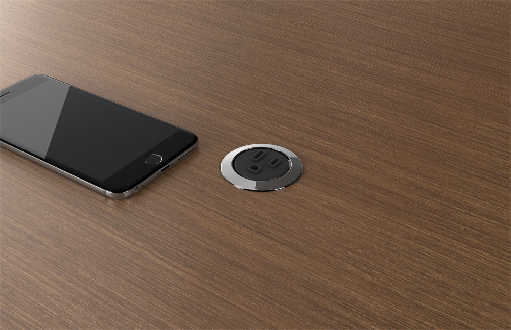 Preview of Power Spec | Black | Round | M27 Walnut Linea Veneer