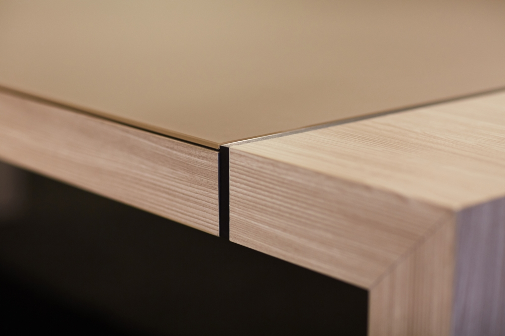 Preview of Tesano | Conference Table | QS Quill Satin Backpainted Glass Top