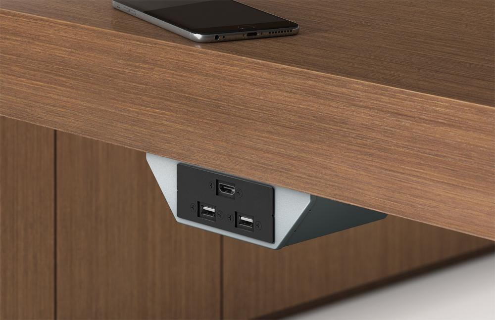 Preview of Power Rail | 1 HDMI and Dual USB | Tesano