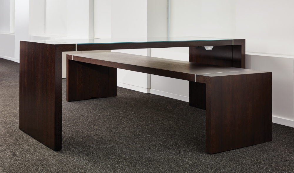 Preview of Tesano   Community Table   Seated Height   Standing Height   Chicago Showroom