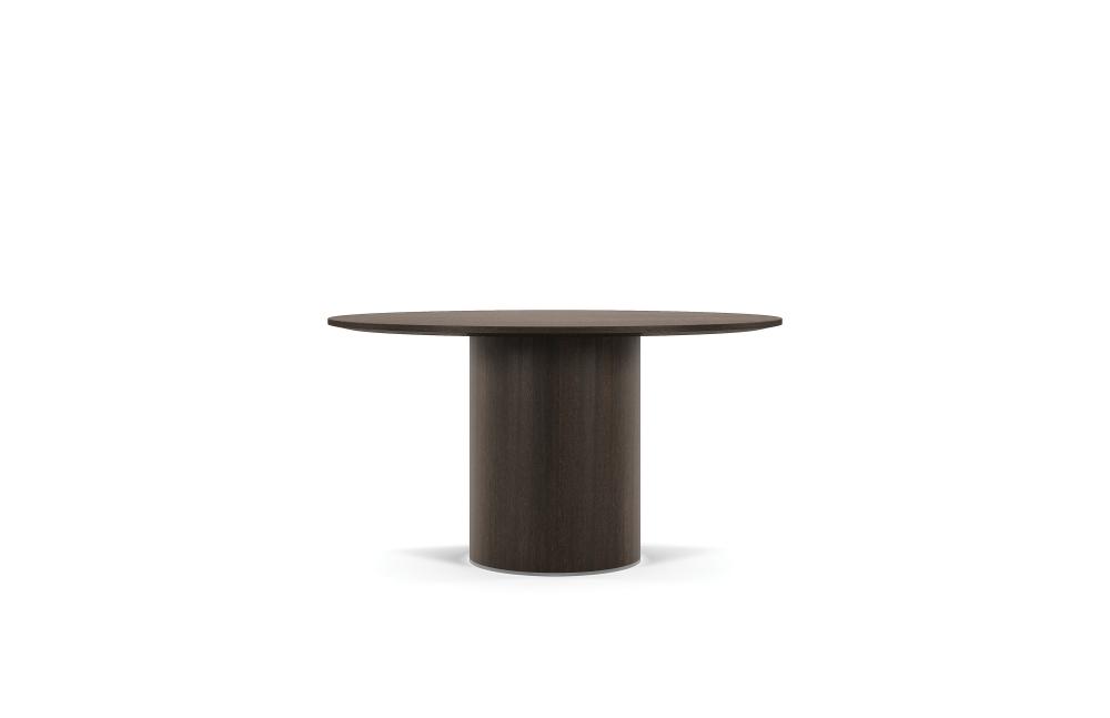Preview of Two 4 Six | Meeting Table | Veneer | Veneer Cylinder Base