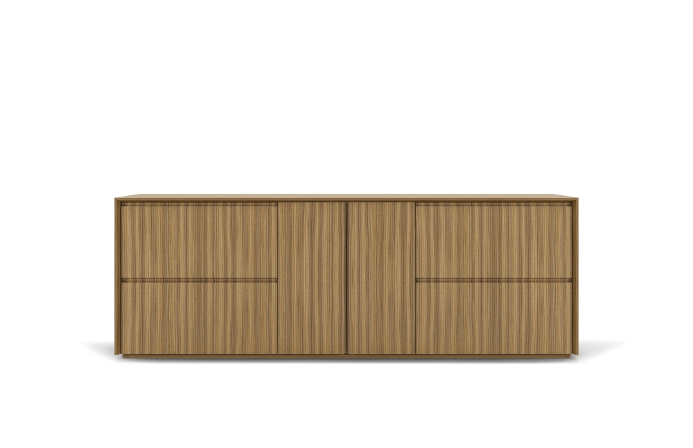 "Preview of Two4Six | Credenza | Paldao Veneer | 72"" x 30"""