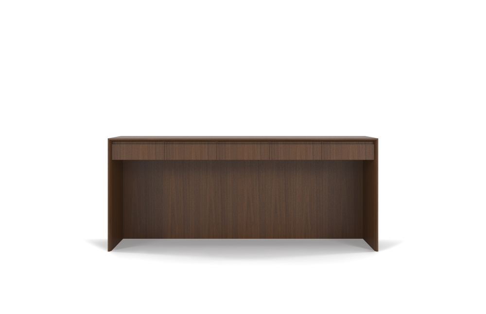 Preview of Two4Six | Console | G25 Natural Walnut Veneer | Open Console