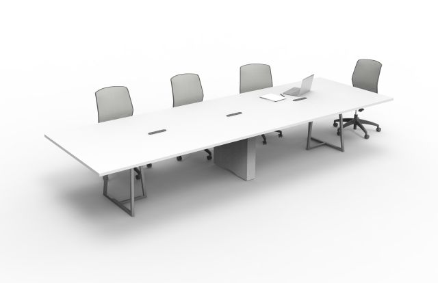 Two4Six | Conference Table | Open Frame Base | Rectangle Center Base