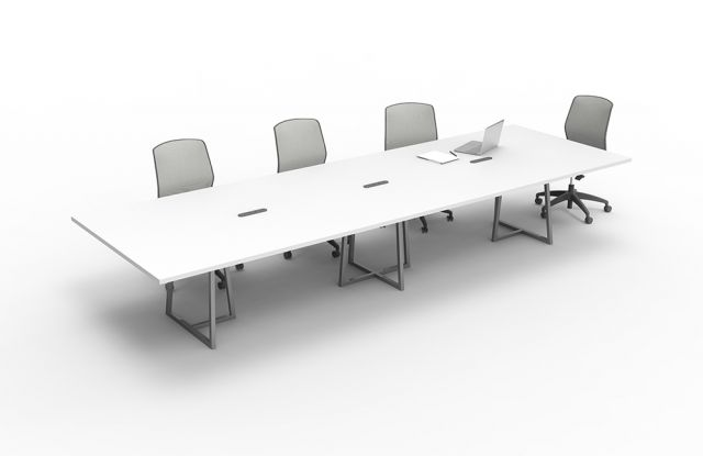 Two4Six | Conference Table | Open Frame Base | Open Frame Center Base