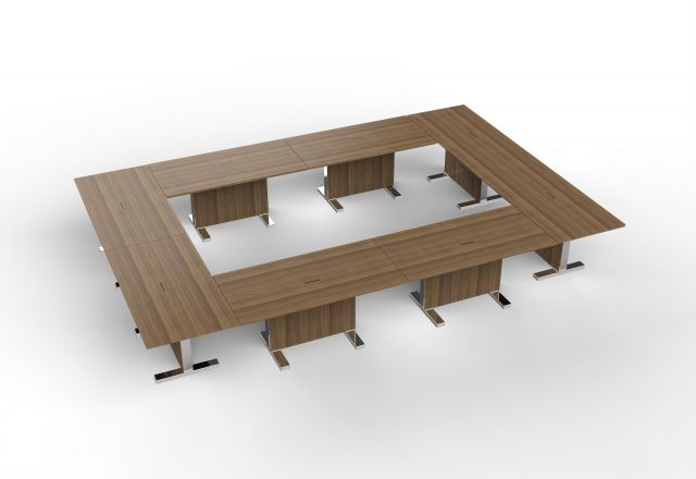 Approach | Enclosed Configuration | Walnut Veneer