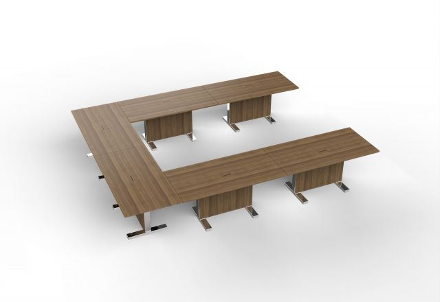 Approach | U Shape Configuration | Walnut Veneer