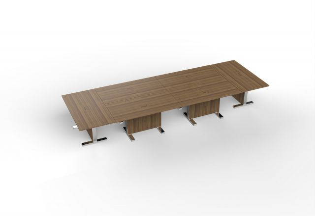 Approach | Conference Configuration | Walnut Veneer