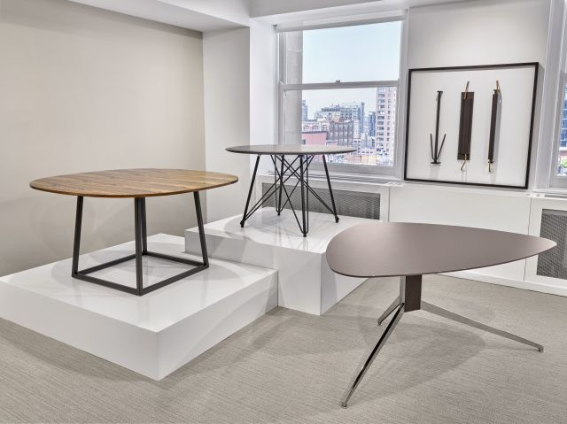 Two4Six | Baja | Soft Triangle | Meeting Tables | Chicago Showroom