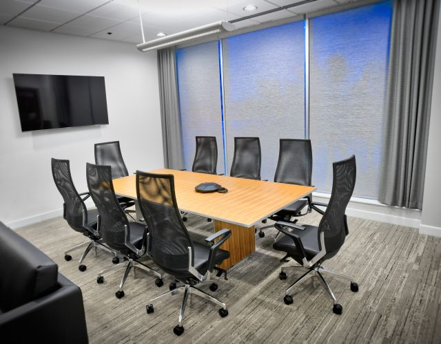 Tavola | Conference Table | Custom | Paldao Veneer | Assemblies of God