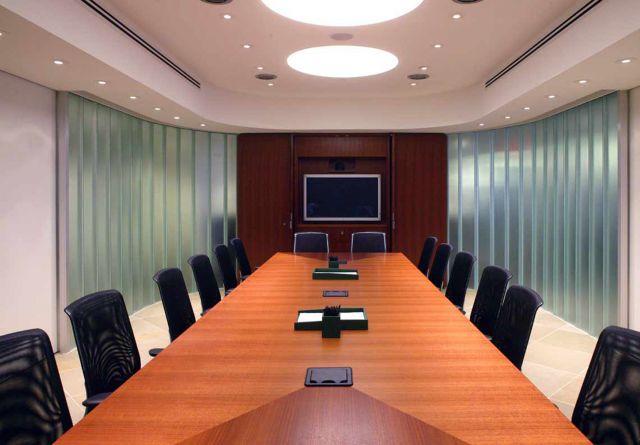 Saber | Conference Table | Rectangle Custom Veneer Top
