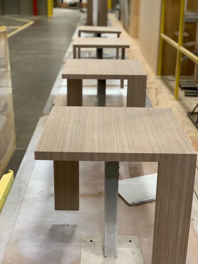 Emme | Occasional Table | Veneer | Manufacturing Plant