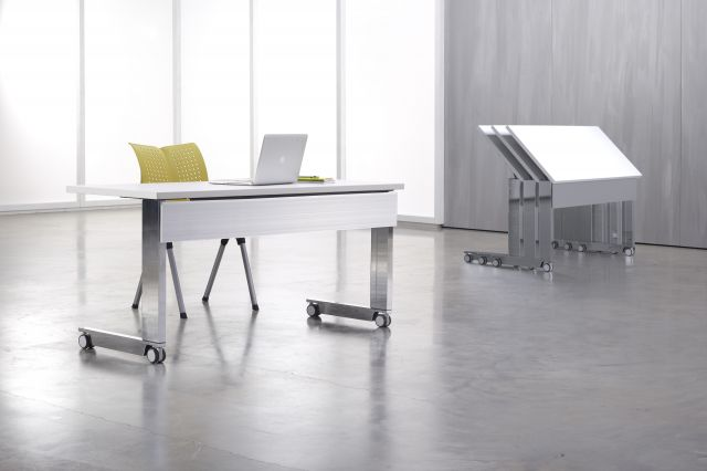 Fleet | Training Table | C Leg |Metal Modesty | Nesting Tables