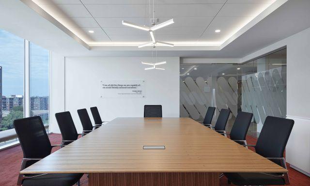 Flow Conference Table | Paldao Veneer | Panel Base | Design: Studio BV, Partner Dealer:Atmosphere