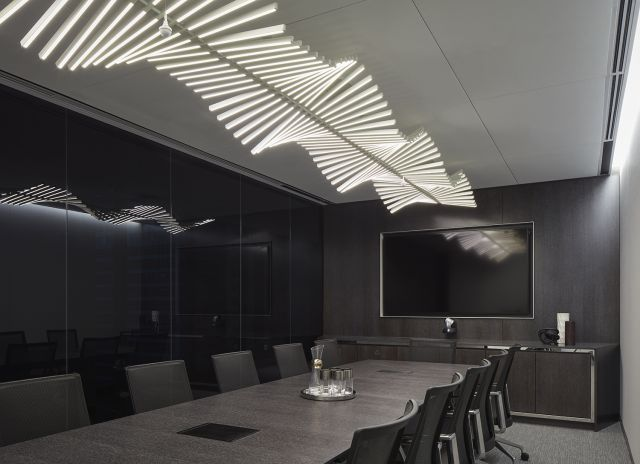 Flow   Conference Table   Custom   Cerused Oak   CNA Headquarters   Photography: Tom Harris
