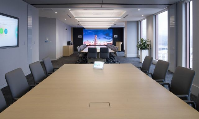 Flow | Conference Table | Veneer Rectangle Top | Newmont