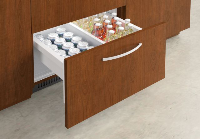 Performance Credenza | Veneer | Food Service | Refrigerator Detail