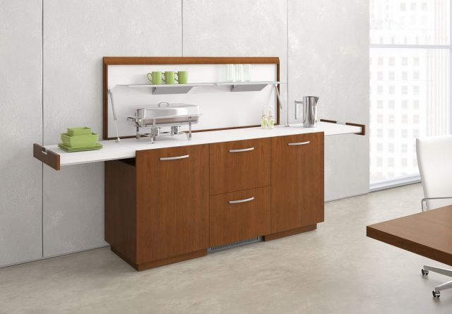 Performance Credenza | Veneer | Food Service | Open