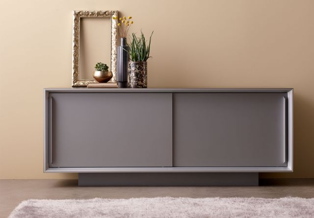 Kai | Credenza | Foil Powdercoat Doors and Base