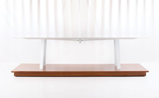 Kai | Conference Table | Cloud Powdercoat Metal Legs