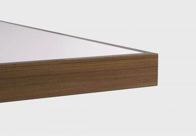 Fleet | Training Table | Square Wood Edge | Inset Laminate Top