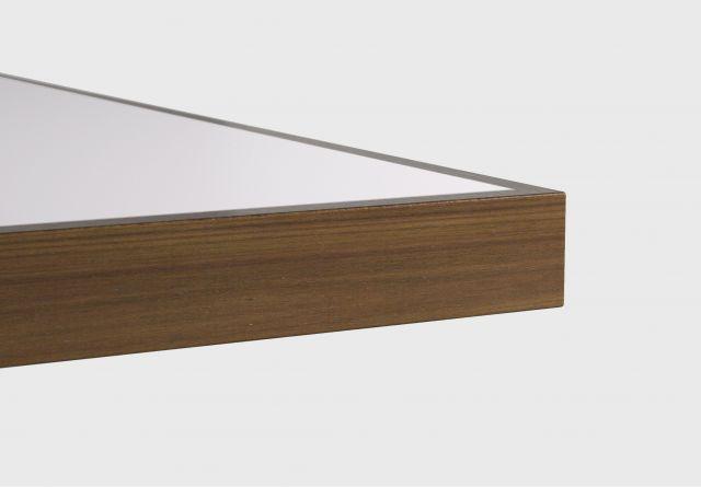 Fleet | Training Table | Square Wood Edge | Inset Laminate Top
