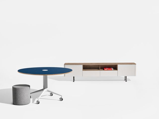 MYNE Column Base Table and MYNE Credenza