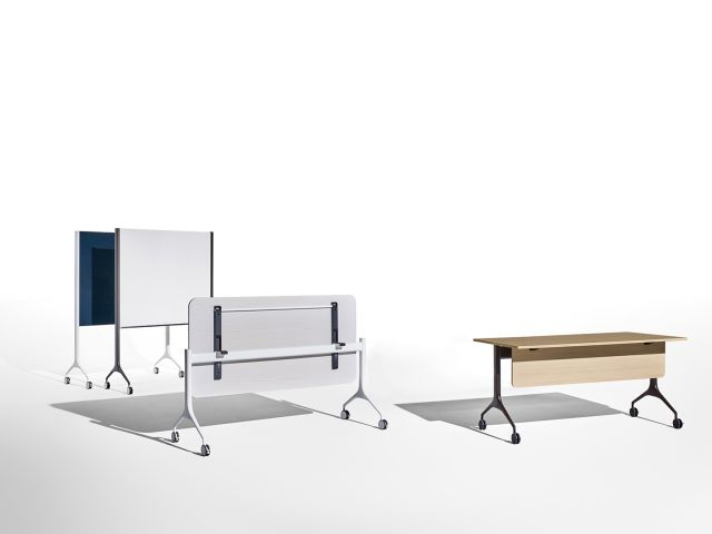 MYNE | Training Tables | MYNE In, MYNE Out, Mobile Markerboard